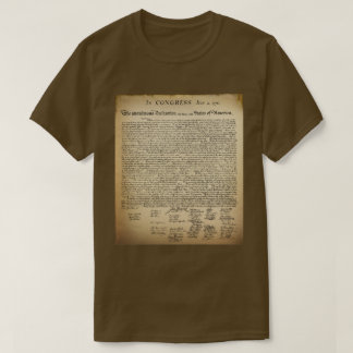 Vintage Declaration of Independence T-Shirt