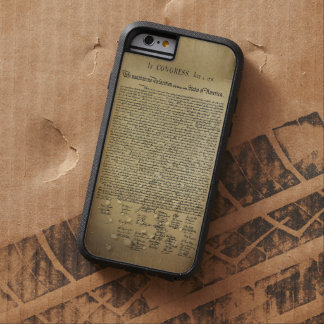 Vintage Declaration of Independence Tough Xtreme iPhone 6 Case