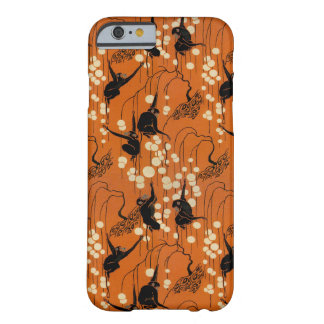 Vintage Deco Moderne Monkeys Barely There iPhone 6 Case