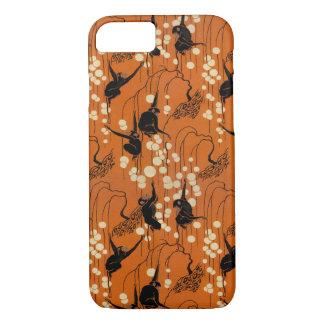 Vintage Deco Moderne Monkeys iPhone 8/7 Case