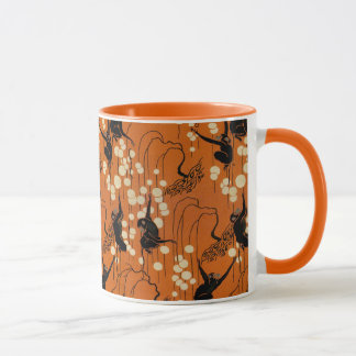 Vintage Deco Moderne Monkeys Mug