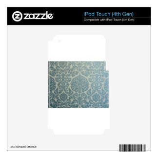 Vintage Decor Skins For iPod Touch 4G