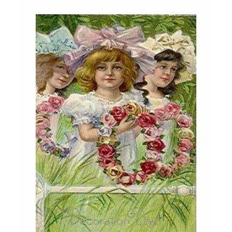 Vintage Decoration Day Girls shirt