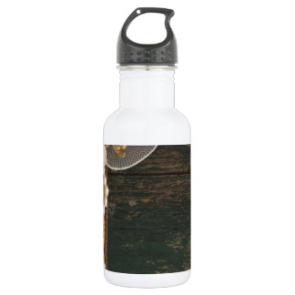vintage decoration stainless steel water bottle