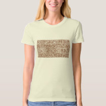 Vintage Decorative Alphabet T-Shirt