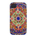 Vintage Decorative Design iPhone 4/4S Cases