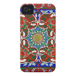 Vintage Decorative Design iPhone 4 Case-Mate Case
