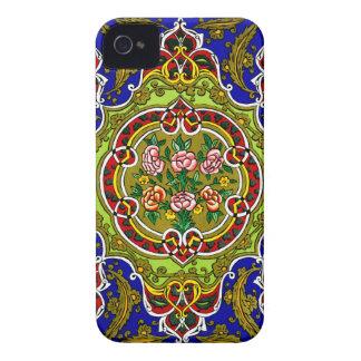 Vintage Decorative Design iPhone 4 Cover