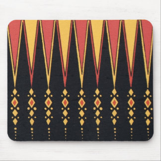 Vintage Decorative Indian Historical Tribal Deco Mouse Pad