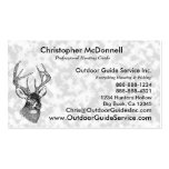 Vintage deer art graphic Double-Sided standard business cards (Pack of 100)