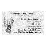 Vintage deer art graphic business cards