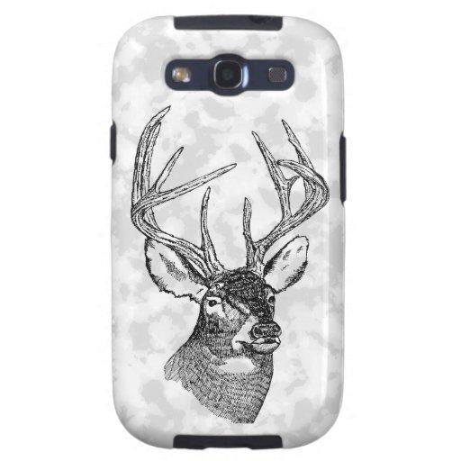 Vintage deer art graphic samsung galaxy s3 case