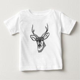 Vintage Deer Baby T-Shirt