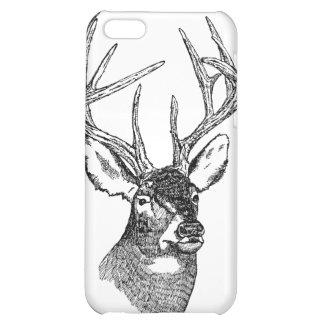 Vintage Deer big buck Case For iPhone 5C