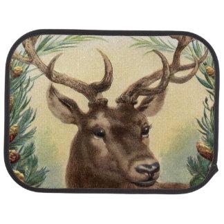 Vintage Deer Car Mat