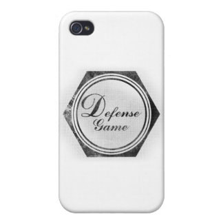 Vintage Defense Games iPhone 4/4S Cover
