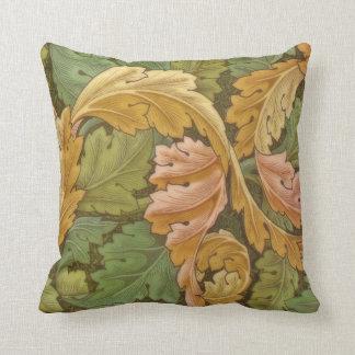 Vintage del Acanthus de William Morris floral Cojín Decorativo