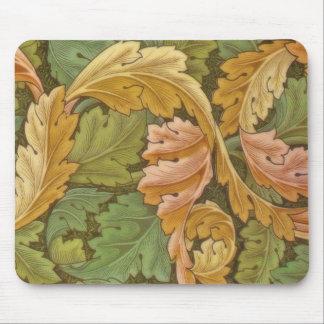 Vintage del Acanthus de William Morris floral Alfombrilla De Ratón