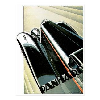 Vintage del automóvil de Panhard Postal
