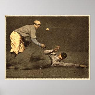 Vintage del béisbol posters