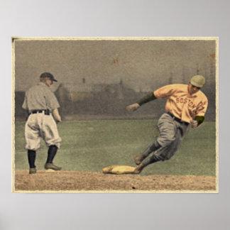 Vintage del béisbol impresiones