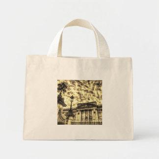 Vintage del Buckingham Palace Bolsa De Tela Pequeña