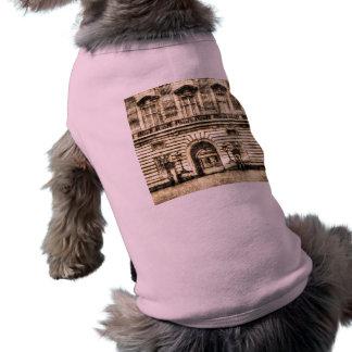 Vintage del Buckingham Palace Playera Sin Mangas Para Perro
