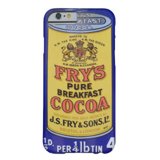 Vintage del cacao funda para iPhone 6 barely there