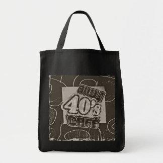 Vintage del café de los años 40 del amor - bolsos
