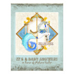 Vintage del carrusel del Seahorse de la fantasía d Anuncios