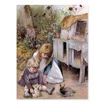"Vintage ""del conejo del mascota"" tarjetas postales"