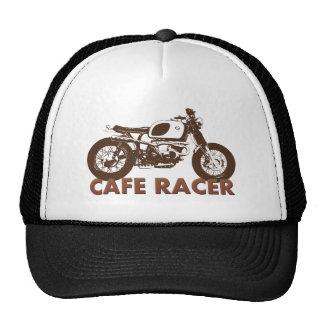 Vintage del corredor del café gorros