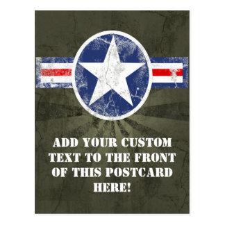 Vintage del cuerpo de aire del ejército postales