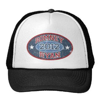 Vintage del deporte de Romney Ryan 2012 Gorras De Camionero