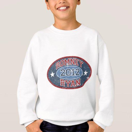 Vintage del deporte de Romney Ryan 2012 Sudadera