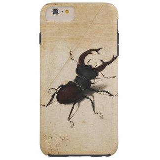 Vintage del escarabajo de macho de Albrecht Durer Funda De iPhone 6 Plus Tough