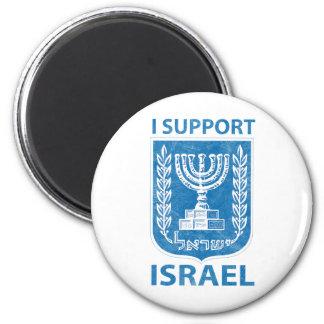 Vintage del escudo de armas de Israel Imán Redondo 5 Cm