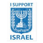 Vintage del escudo de armas de Israel Postal