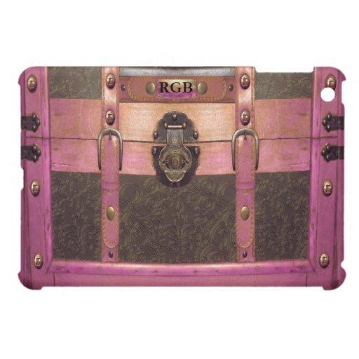 Vintage del estilo del equipaje de Torricelli del  iPad Mini Protectores