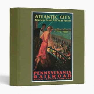 Vintage del ferrocarril de Atlantic City de Pennsy
