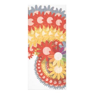 Vintage del flower power tarjeta publicitaria personalizada