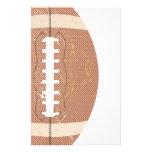 vintage del fútbol papelería de diseño