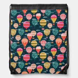 Vintage del globo del aire caliente/Andrea retros Mochilas