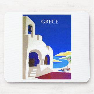 vintage del grece tapete de ratones