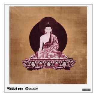 Vintage del Grunge de Shakyamuni Buda Vinilo Adhesivo