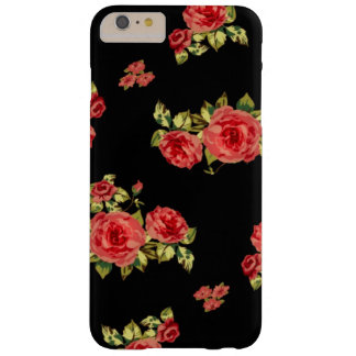 vintage del iPhone 6 floral Funda Para iPhone 6 Plus Barely There