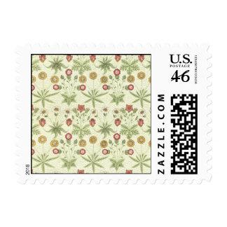 Vintage del jardín del país floral sellos