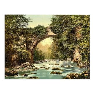 Vintage del KRW el condado Wicklow del puente de D Postales