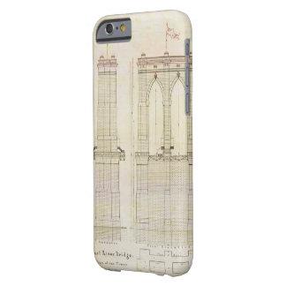 Vintage del modelo de la arquitectura del puente funda barely there iPhone 6