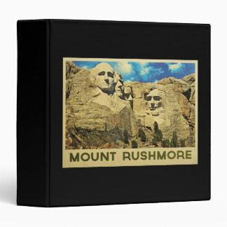 "Vintage del monte Rushmore Carpeta 1 1/2"""